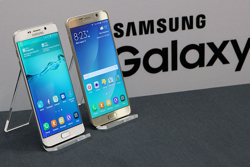 Samsung Galaxy S6 Edge+ e Note 5 abandonados pela Samsung
