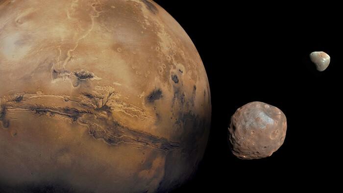 Marte luas