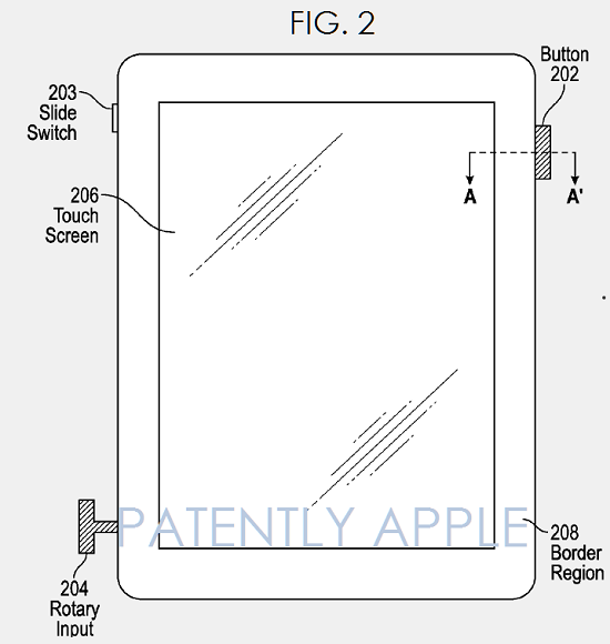 Patent-application-shows-the-use-of-a-Digital-Crown-on-an-iPad
