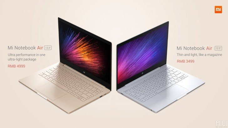 Xiaomi MiNotebook 4gnews