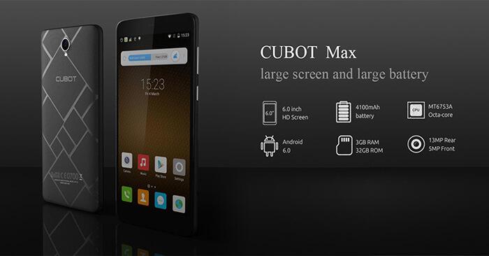 Cubot Max 1
