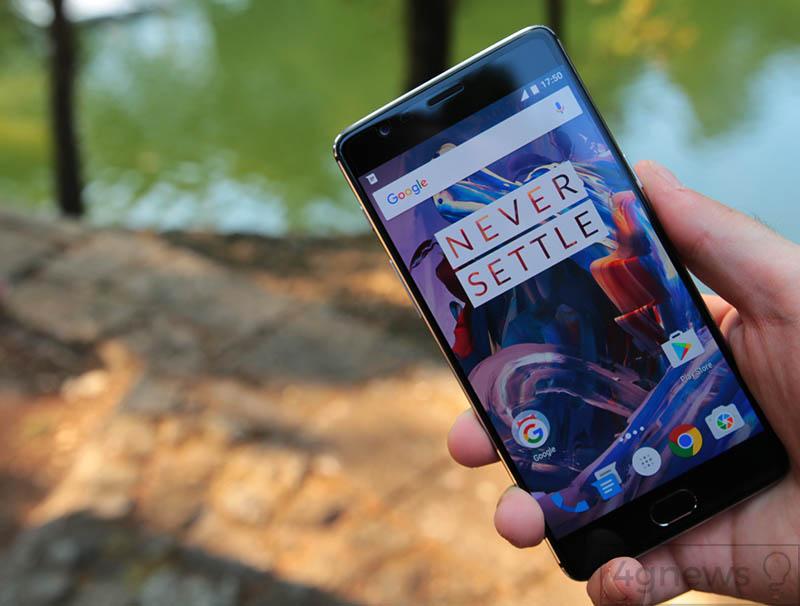 OnePlus 3 OnePlus 3T Android Oreo atualização