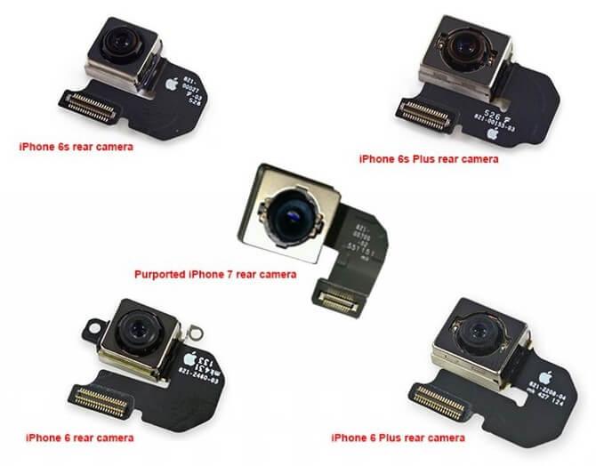 iPhone 7 câmara