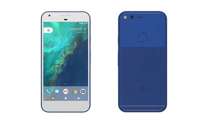 google-pixel-azul