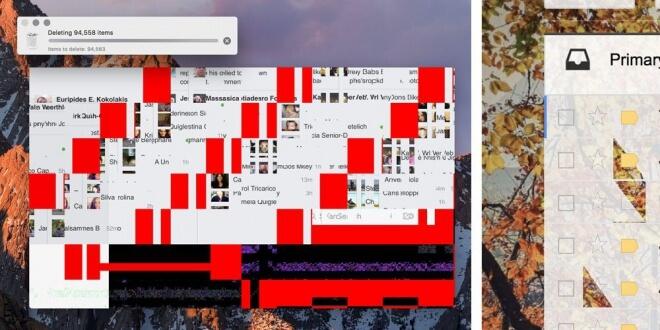 MacBook Pro com problemas na placa gráfica