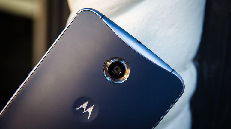 Motorola Nexus 6 Android Nougat smartphone