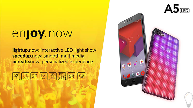 Alcatel A5 LED 4gnews