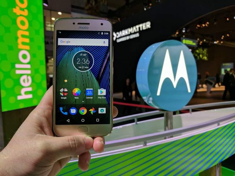 Motorola Moto G5 Plus Wi-fi