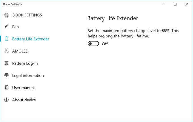 A Book Settings poderá integrar a interface do Samsung Galaxy Book