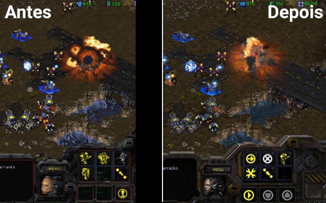 Antes e Depois StarCraft
