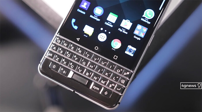 BlackBerry KeyOne: Este teclado é sexy demais!