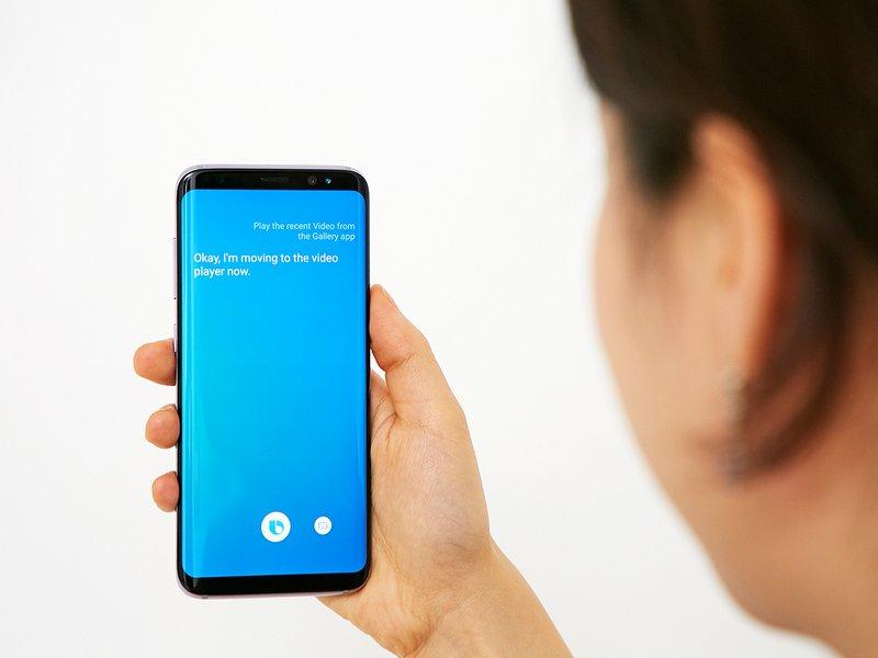 Samsung Galaxy S8 Bixby botão