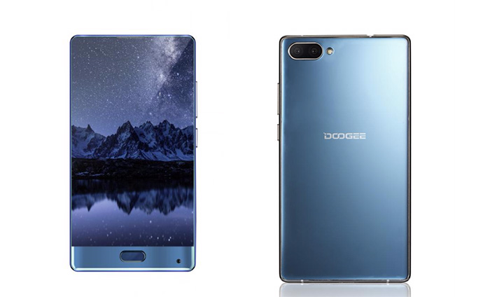 Doogee Mix Azul Coral
