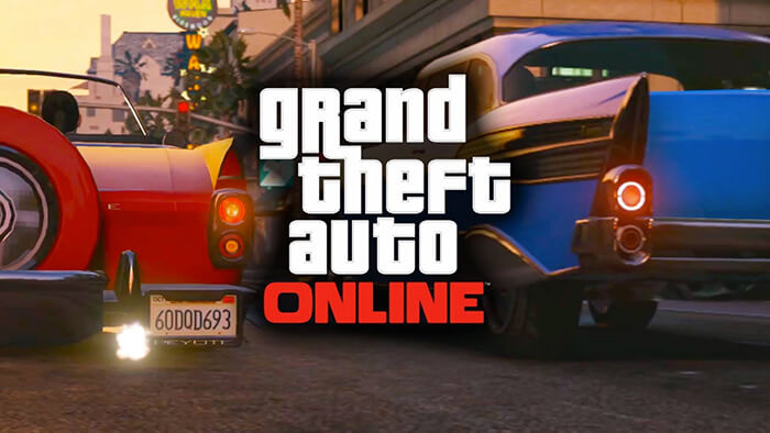 O modo online do GTA V