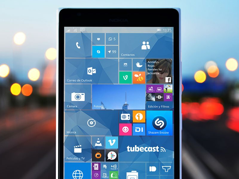 Windows Phone Windows 10 Mobile