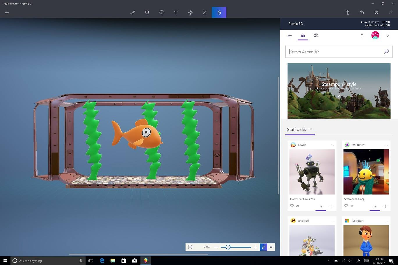 Windows 10 - Paint