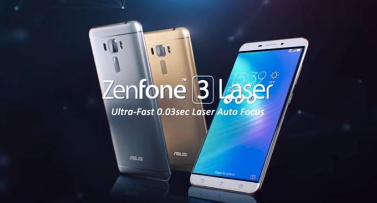 Zenfone 3 Laser Nougat