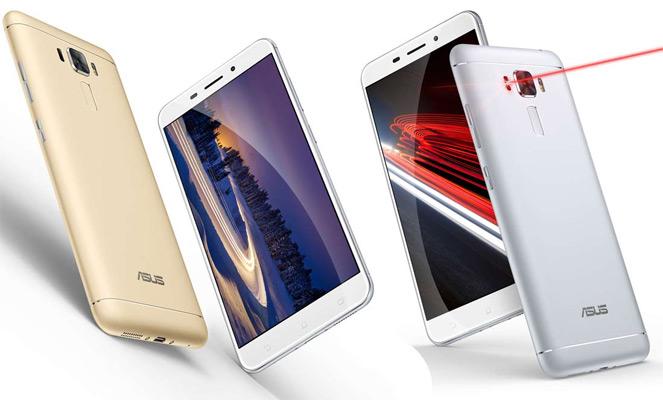 Zenfone 3 Laser Android Nougat