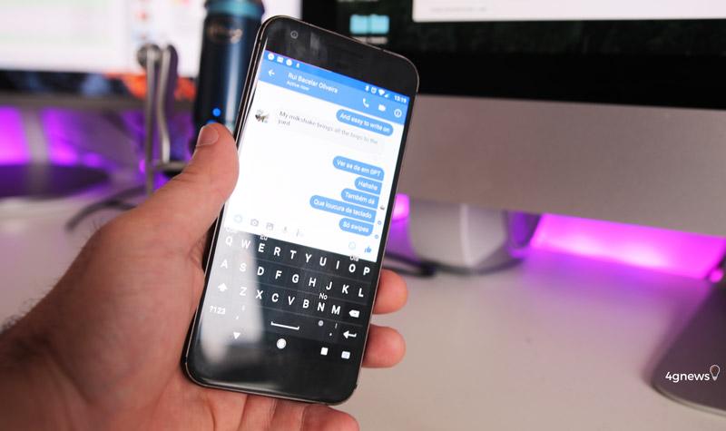 Teclado BlackBerry no Google Pixel