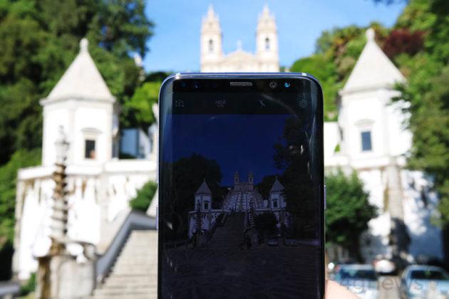 Tecnologia férias smartphone Samsung Galaxy S8 Smartphone