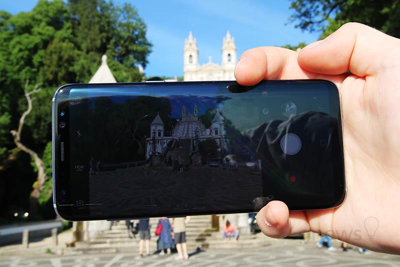 Samsung Galaxy S8 modo de retrato