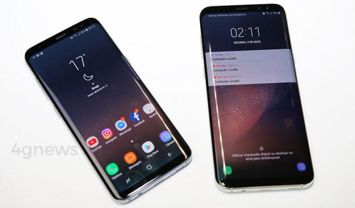 Android Oreo Samsung Galaxy S8 Galaxy S8+