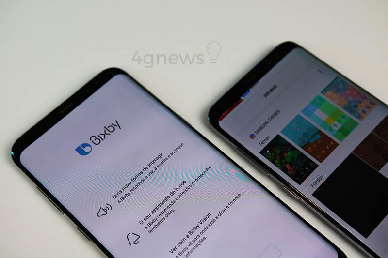 Samsung já da a possibilidade de desativar o botão Bixby no S8 e Note 8