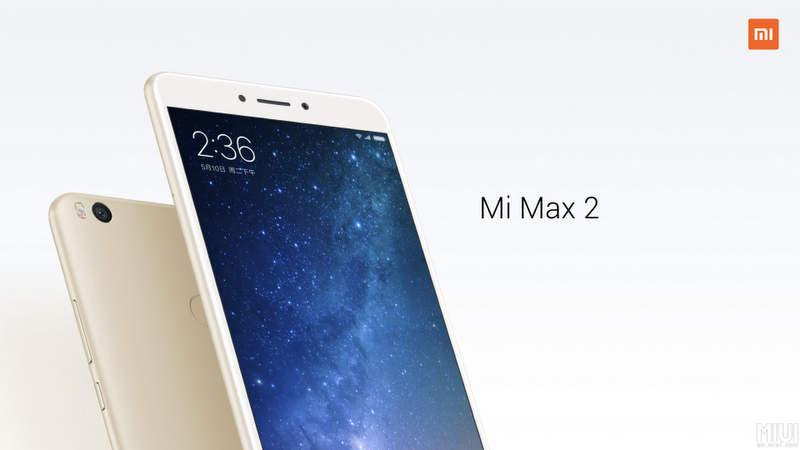 Xiaomi Mi Max 2 MIUI 9 versão estável global