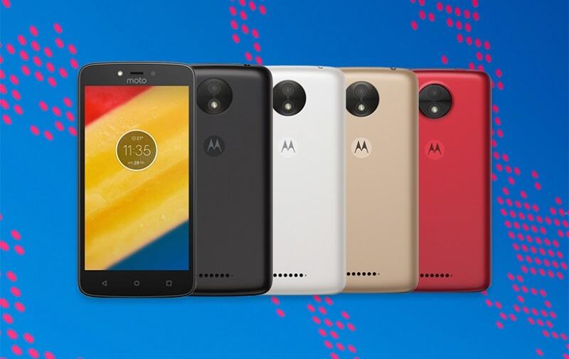 ZenFone Motorola Moto C