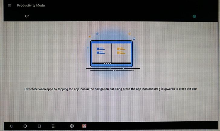 imagem representativa do tablet da Motorola
