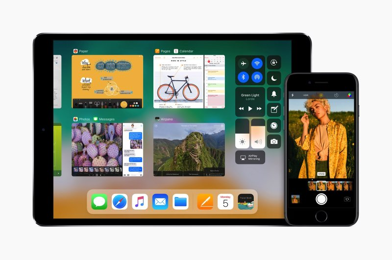 Apple iPad Apple iPhone iOS 11