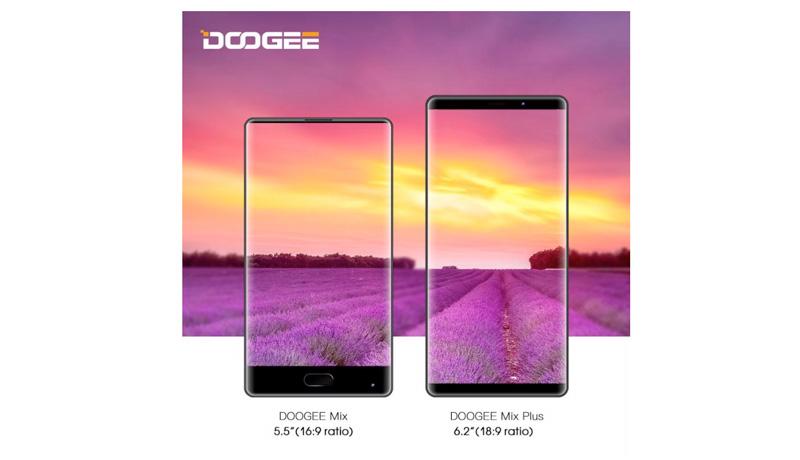 Doogee Mix e Doogee Mix Plus