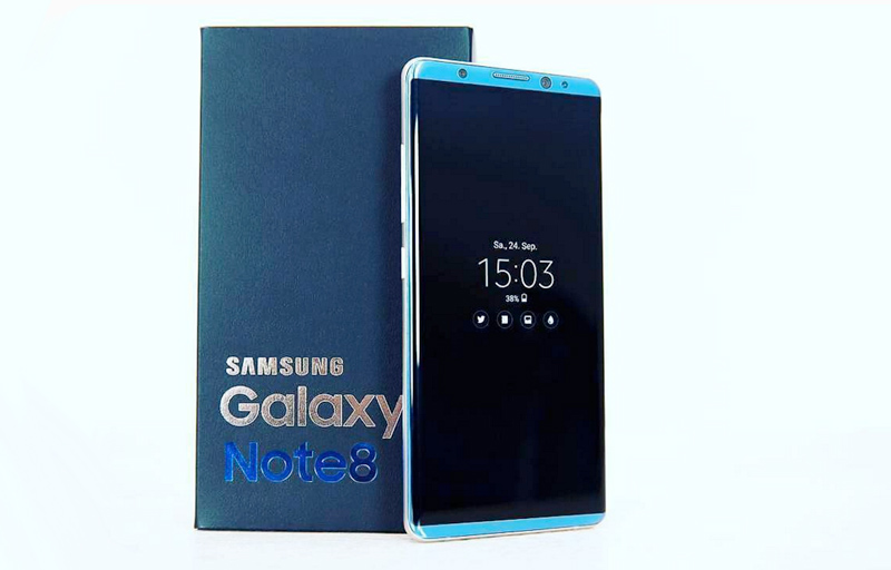 Alegado Samsung Galaxy Note 8