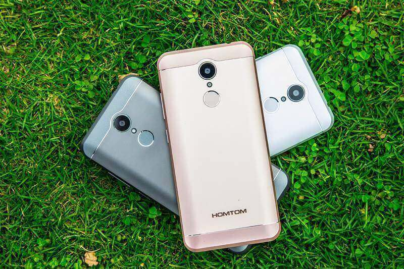 As 3 tonalidades do HomTom HT37