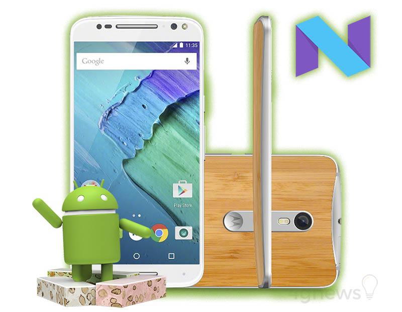 O Motorola Moto X Style já está a receber o Android Nougat no Brasil