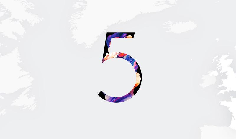 Evento de lançamento do OnePlus 5 acontece às 17h Lisboa ou 13h Brasília