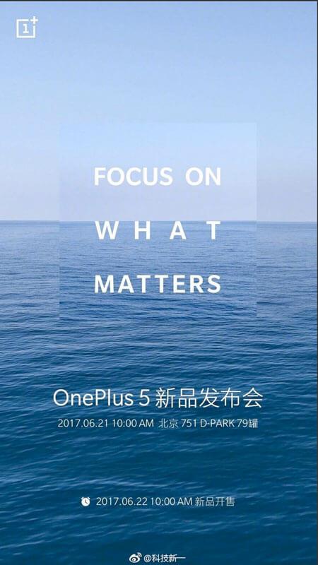 OnePlus 5 chegará ao mercado dois dias depois do lançamento