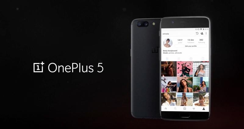 OnePlus 5 é oficial