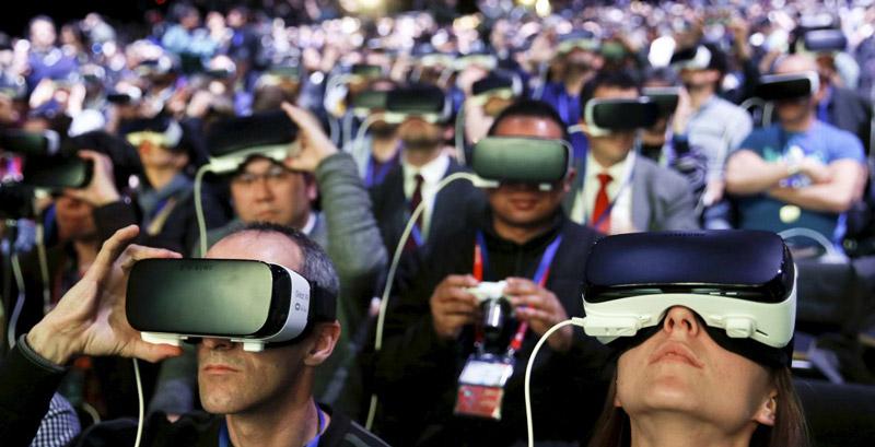 Realidade Virtual evento Samsung | Crédito Business insider