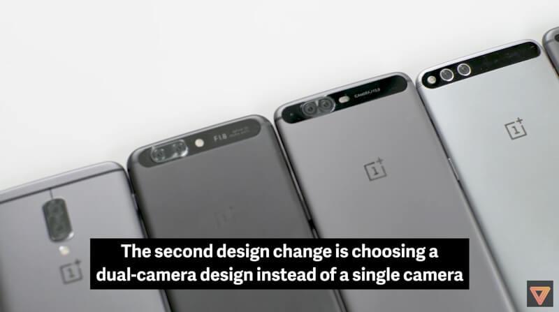 Protótipos do OnePlus 5 | Crédito: The Verge
