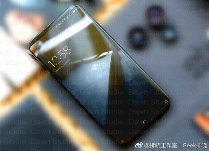 Alegado Xiaomi Mi Mix 2