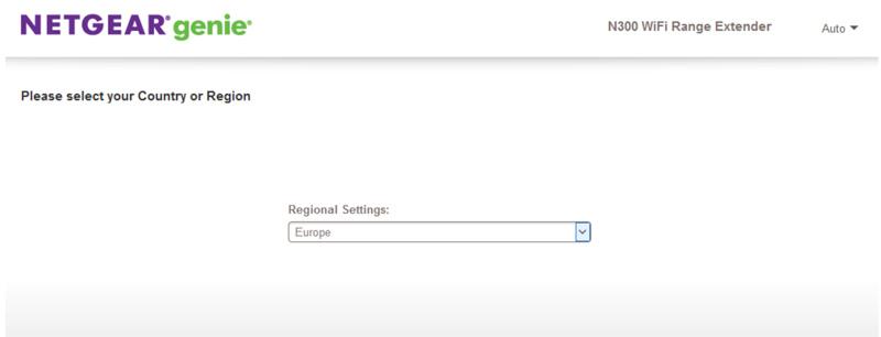 configurar extensor de internet