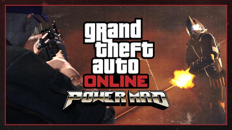 GTA V Online Power Mad