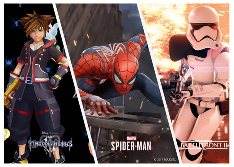 Spider-Man, Battlefront 2 e Kingdom Hearts 3 D23
