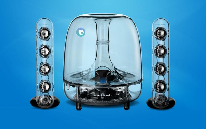Harman Kardon SoundSticks Wireless | Samsung | Bixby | Coluna inteligente