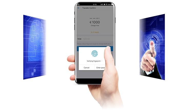 Impressão Digital Smartphones