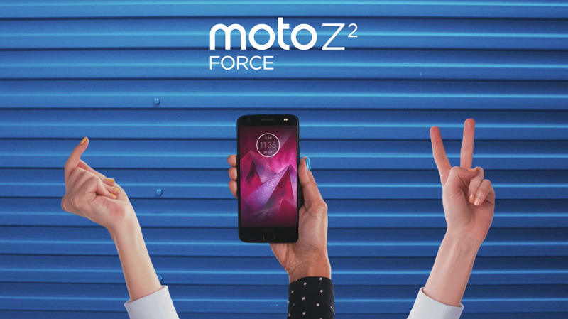 Motorola Moto Z2 Force Android Oreo 8.0