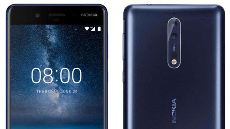 Nokia 8 Nokia 9 smartphone Dourado
