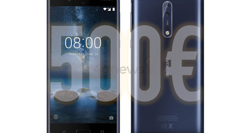 Nokia 8 Smartphone Android Europa