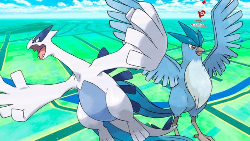 Pokémon Go Niantic Articuno Lugia